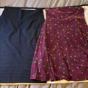 LulaRoe skirts both for $20 or best offer